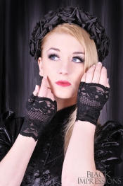 Mystique Night Lace Gloves