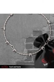 Barbed Wire Necklace - stainless steel