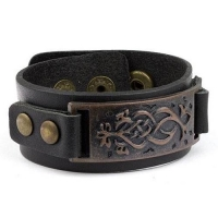 Studded Leather Wristbands