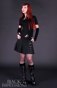 Tormented Soul Safety Pin Skirt