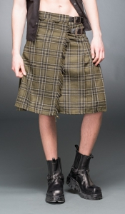 Kilt - Green Plaid