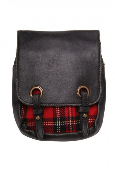 Black-Red Kilt Bag