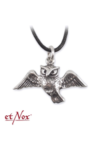 Night Owl Pentacle 925 Sterling Silver