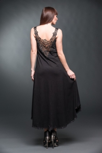 Celestial Princess Long Dress with Lace
