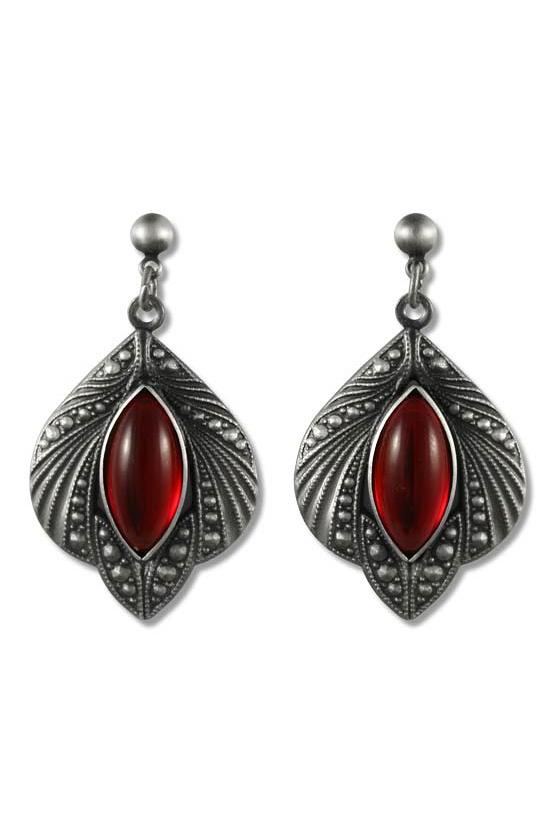 mystic jewel gothic ohrh nger rot 11 95. Black Bedroom Furniture Sets. Home Design Ideas
