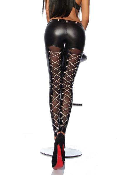 damen lack leder hosen catsuits online kaufen black. Black Bedroom Furniture Sets. Home Design Ideas