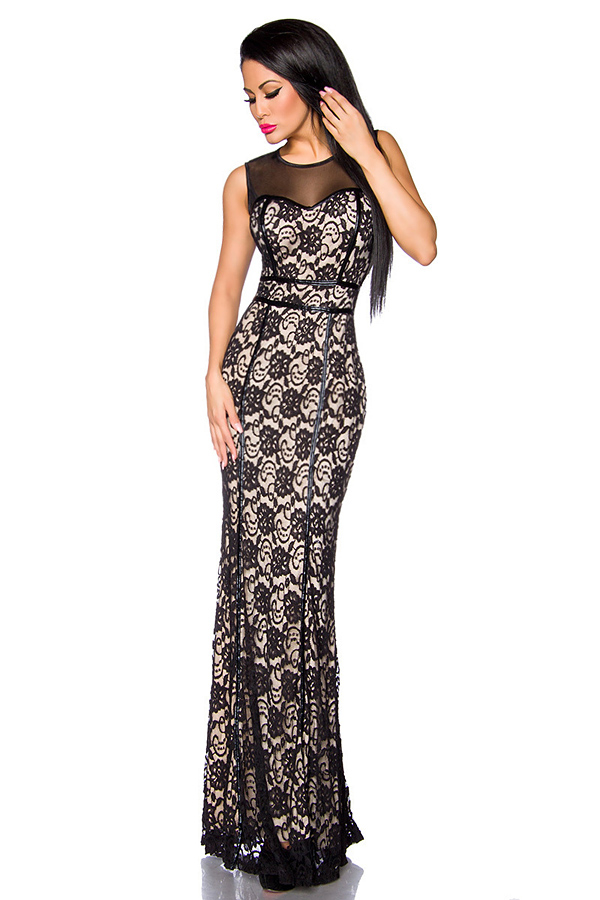 Evening Gown - Black-Nude, 72,90 €