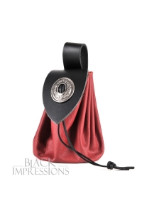 Big Medieval Coin Purse Red