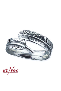 Silver Feather Ring - Silber 925er