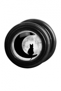 Moonlight Cat Fake Plug