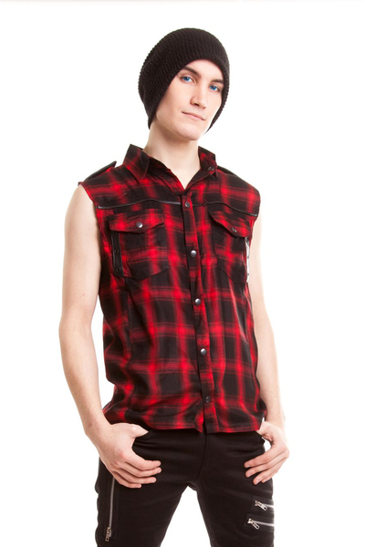 Diablo Red Check Shirt