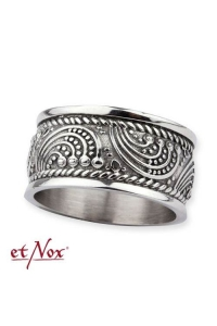Ornament Ring - stainless steel