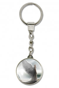 Spirit Guide Key Ring by Anne Stokes