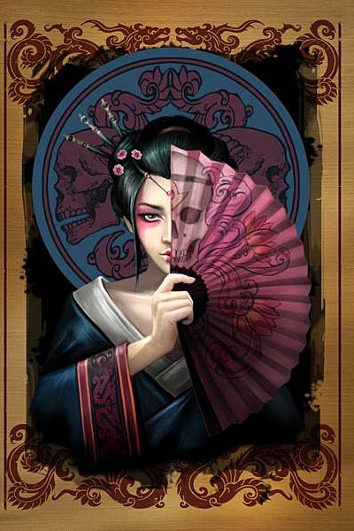 Art images geisha