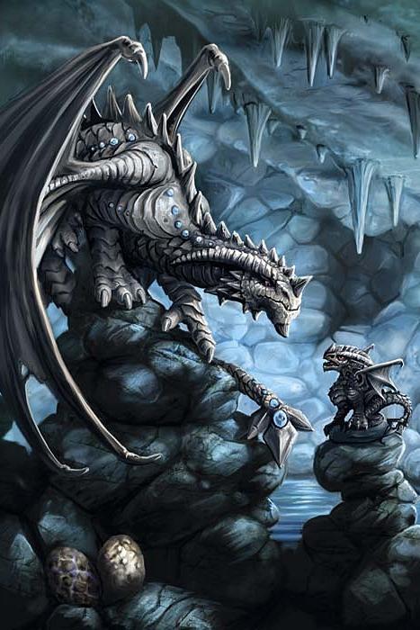 Rock Dragon Anne Stokes Dragon Age Greeting Card 2 99