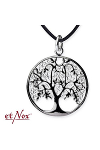Pendant Tree of Life with Silver Plating