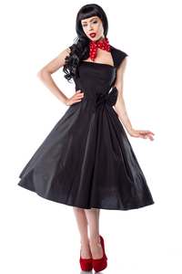 Dancing Satin Dress mit Schleife