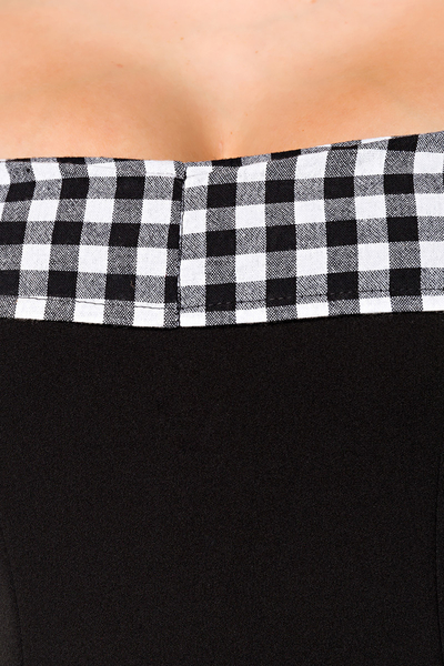 82289741abdf ... Rebecca Swing Dress - Black-White