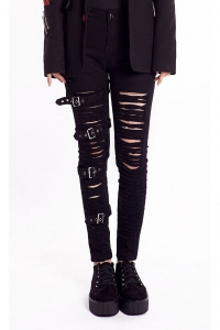 Mayhem Distressed Trousers