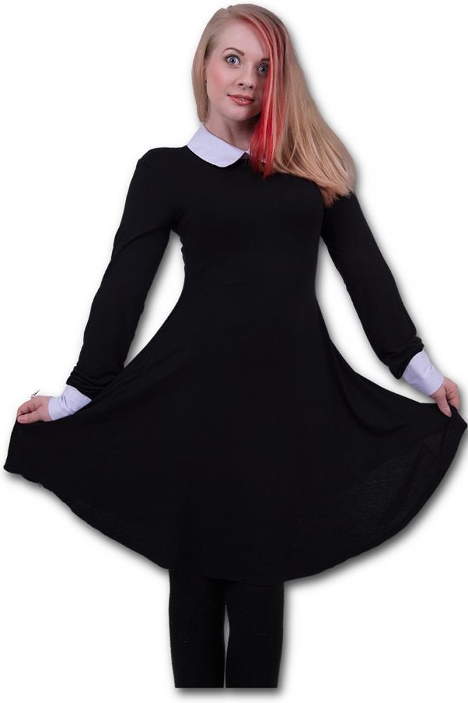 peter pan babydoll dress mit wei em kragen 34 95. Black Bedroom Furniture Sets. Home Design Ideas