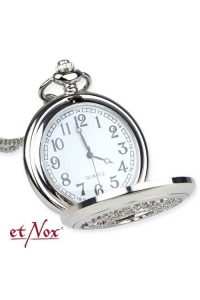 Vintage Time Silver Colour Chain Watch