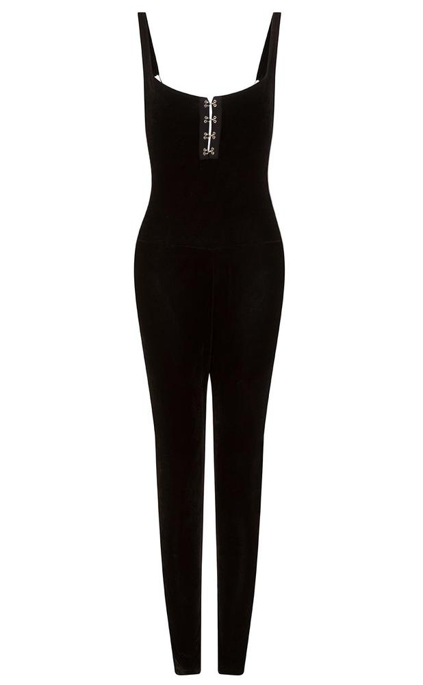 velvet venus skinny jumpsuit 74 90. Black Bedroom Furniture Sets. Home Design Ideas