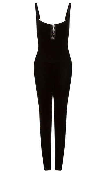 velvet venus skinny jumpsuit 74 90. Black Bedroom Furniture Sets. Home Design Ideas