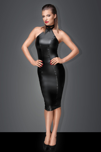 MUSE - Pencil Dress aus Power-Wetlook