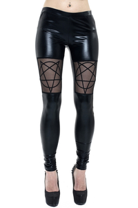 Latexlook-Leggings Pentax