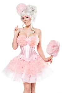 Cotton Candy Girl Costume Dress