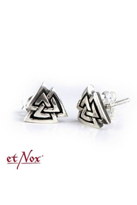 Knot of Wotan Earstuds - Silver 925