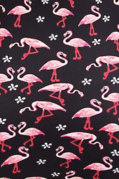 cb29d556c33c2 Sweetie Flamingo Highwaist Retro Bikini Top, 22,95 €