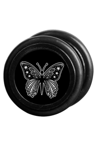 Black Butterfly Fake Plug