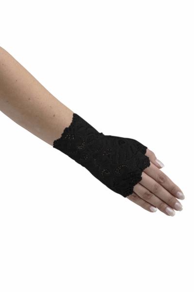 808914c5ee5b54 Fingerlose Handschuhe aus französischer Spitze - Bridal.