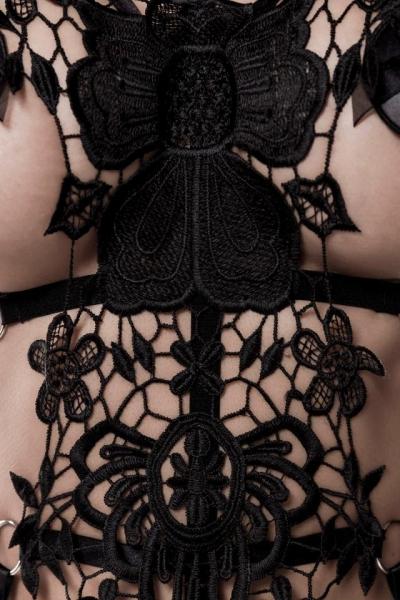 Harness Set with Lace by Grey Velvet
