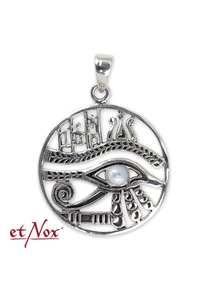 Eye of Horus Silver Pendant