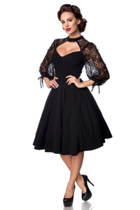 Vintage Dress with Lace Sleeves