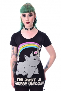 T-Shirt Just A Chubby Unicorn