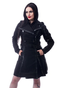 Chemical Black Dark Silence Coat