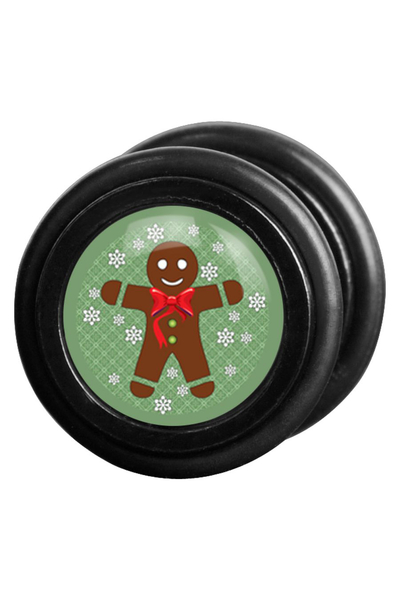 Gingerbread Man Fake Plug