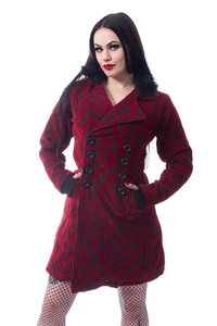 Red Craft Coat