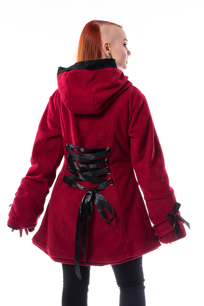 Red Alison Coat