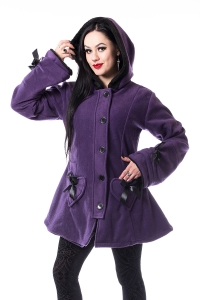Purple Alison Coat