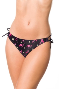 Bikini Panty with Flamingo Pattern