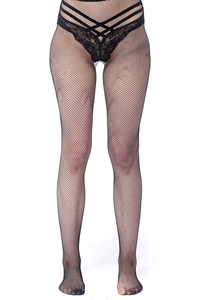 Tights with Fine Net Pattern