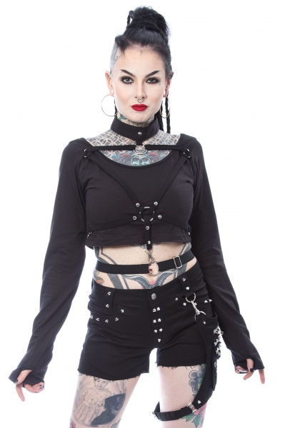 Crop-Top Vega mit Harness XXL