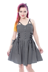 Dress Harriet mit Polka-Dots