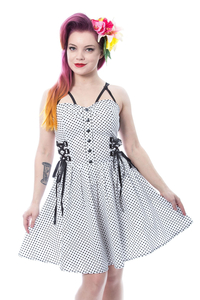 Dress Selma mit Polka-Dots