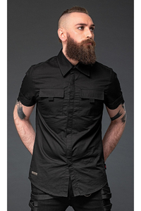 Shortsleeve Shirt with 2 Chest Pockets