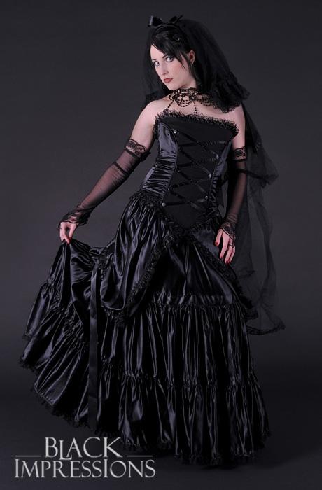 Gothic Bride Dark Wedding Dress 79 00